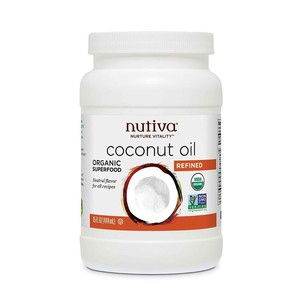 Nutiva Organic Refined Coconut Oil 444ml