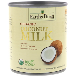 Earth's Finest Organic Coconut Milk 200ml