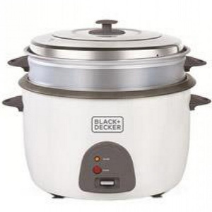 Black+Decker Rice Cooker RC4500-B5 4.5Ltr