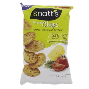 Snatt's Popped Chips Tomato, Cheese and Oregano 75g
