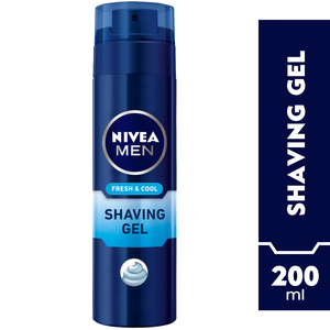 Nivea Men Cool Kick Shaving Gel 200ml