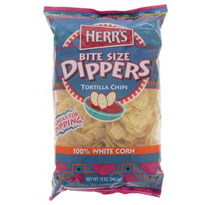Herrs White Corn Tortilla Chips 340.2g
