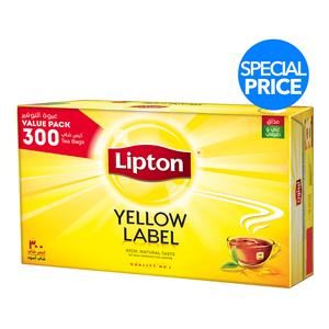 Lipton Yellow Label Tea Bags 300 Pcs