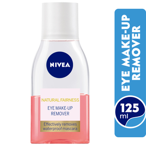 Nivea Natural Fairness Eye Make Up Remover 125ml