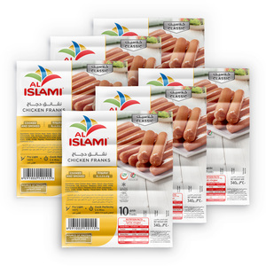 Al Islami Chicken Franks 6 x 340g