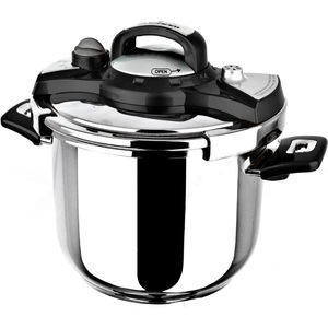 Sofram Stainless Steel Pressure Cooker 8Ltr Assorted Colors