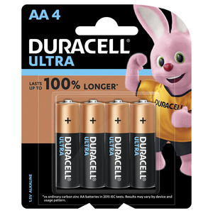 Duracell Ultra AA Battery 4pcs