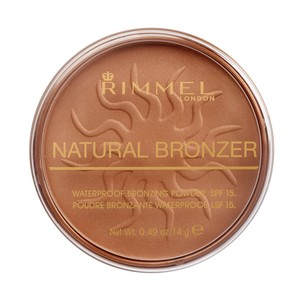 Rimmel London Natural Bronzer Shade 025 Sun Glow 14g