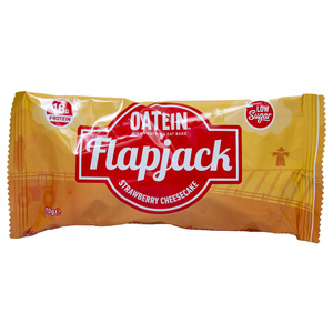 Oatein Flapjack Oat & Protein Strawberry Cheesecake 70g