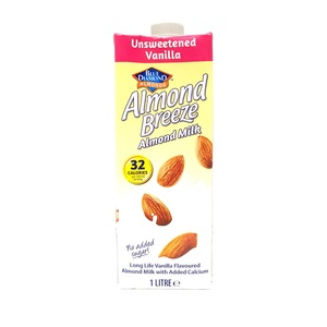 Blue Diamond Unsweetened Vanilla Almond Milk 1Litre