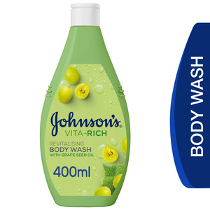 Johnson's Body Wash Vita-Rich Revitalising 400ml