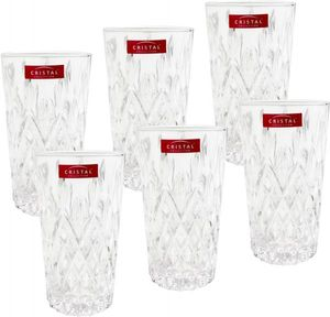 Cristal Collection Glass Naples 6pcs