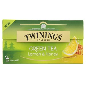Twinings Honey and Lemon Green Tea 25 Tea Bags