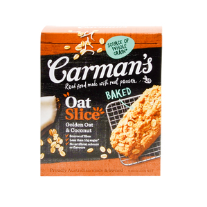 Carmans Golden Oat & Coconut Cereal Bar 210g