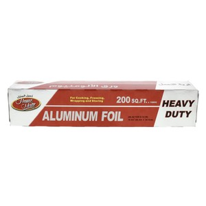 Home Mate Aluminum Foil Size 60.9m x 30.4cm 200sq.ft 1pc