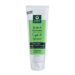 Organic Harvest 3in1 Face Wash 100g