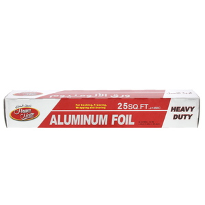 Home Mate Aluminum Foil Size 7.62m x 30.4cm 25sq.ft 1pc