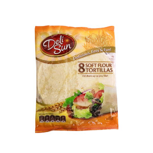 Deli Sun Plain Soft Tortillas 8pcs 320g