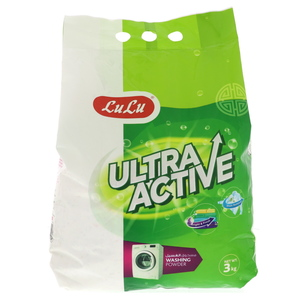 Lulu Ultra Active Front Load  Washing Powder 3kg
