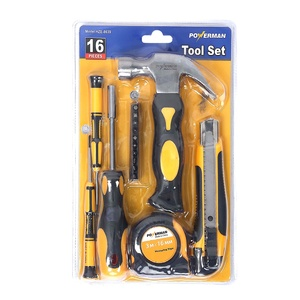 Powerman Hand Tool HZE-8639 16pcs
