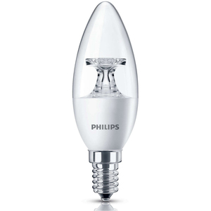 Philips LED Candle Bulb 5.5-40W E14 2700K 220-240V
