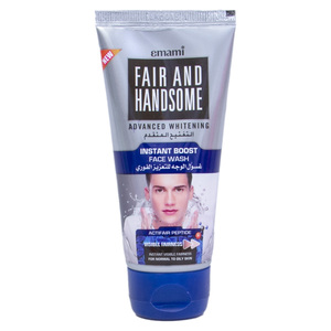 Emami Fair & Handsome Face Wash Advanced Whitening Instant Boost  50ml