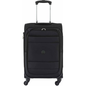 Delsey Indiscrete Soft Trolley 55cm 4 Wheel Soft Trolley Black
