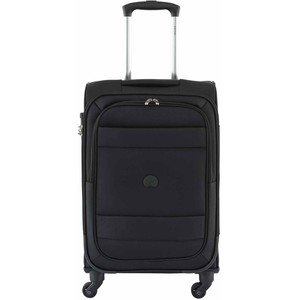 Delsey Indiscrete Soft Trolley 69cm 4 Wheel Soft Trolley Black