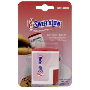 Sweet'n Low Sugar Substitute Sweetener 100's
