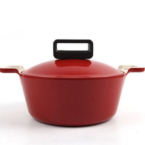 Neoflam Cube Die-Casted Casserole  20cm Assorted Colors