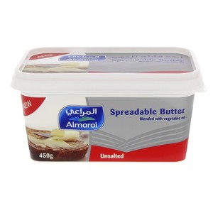 Almarai Spreadable Butter Unsalted  450g