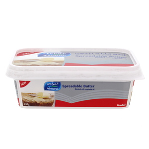 Almarai Spreadable Butter Unsalted 250g