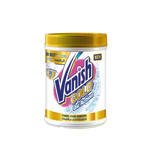 Vanish Stain Remover Oxi Action Gold Powder White 900g