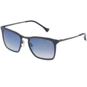Police Men's Sunglass Rectangle SPL154CAG2B