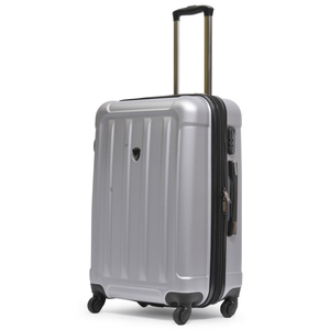 Heys Frontier 4 Wheel Hard Trolley 30inch Silver