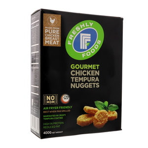 Freshly Food Gourmet Chicken Tempura Nuggets 400g