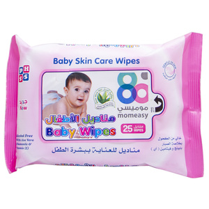 Mom Easy Baby Skin Care Wipes 25pcs