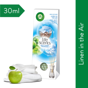 Airwick Life Scents Reed Diffuser Linen in the Air 30ml