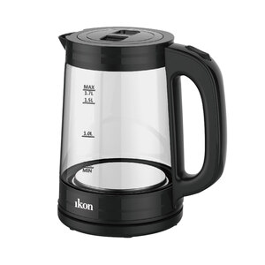 Ikon Glass Kettle IK-1707 1.7Ltr