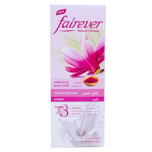 Fairever Natural Fairness Cream Saffron & Pure Milk 50g