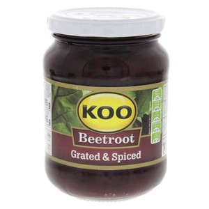 Koo Beetroot Salad Grated & Spiced 405g