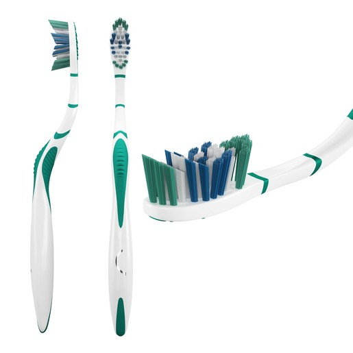 Signal Toothbrush Deep Clean Medium 1pc Assorted Color