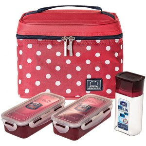 Lock&Lock Lunch Bag Set HPL758S3DR