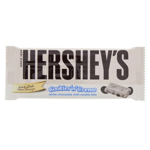 Hershey's Cookies & Cream White Chocolate 40g