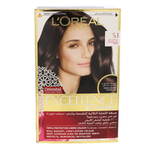 L'Oreal Excellence Creme 5.1 Profound Light Brown 1Packet