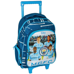 Manchester City School Trolley 16inch