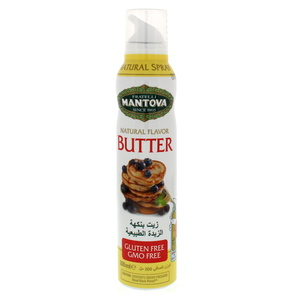 Mantova Fratelli Natural Flavour Butter 200ml