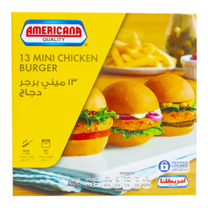 Americana Mini Chicken Burgers 400g