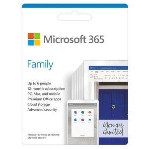 Microsoft 365 Family [Digital Download]