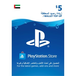 Sony ESD Wallet top up - 5 USD UAE [Digital]